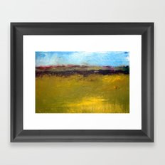 Abstract Landscape - The Highway Series Framed Art Print