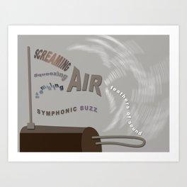 The Theremin Art Print