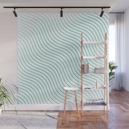 Tirquaz wavy modern lines Wall Mural