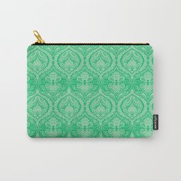 Simple Ogee Green Carry-All Pouch