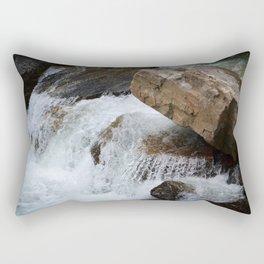 White Water Stream Rectangular Pillow