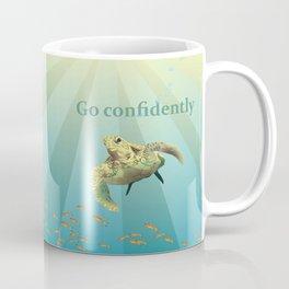 Inspirational Sea Turtle Coffee Mug