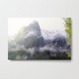 Yosemite Snow Metal Print