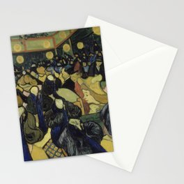 The Dance Hall in Arles Stationery Cards