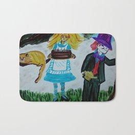 Alice, Happy Birthday Lewis Carroll Bath Mat