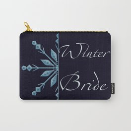 Winter Bride Carry-All Pouch