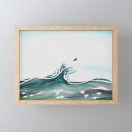 Break Free Framed Mini Art Print