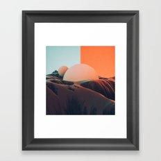 161221 / flip Framed Art Print
