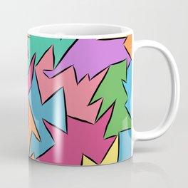 tetra-coloured leaves Coffee Mug