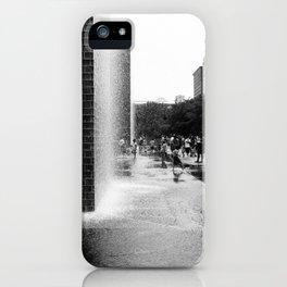 Chicago Street Scenes 2: City Splash iPhone Case