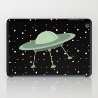 ufo iPad Cases featuring UFO by Mr and Mrs Quirynen