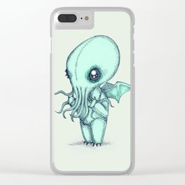 Plushie Cthulhu Clear iPhone Case