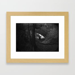 meander Framed Art Print