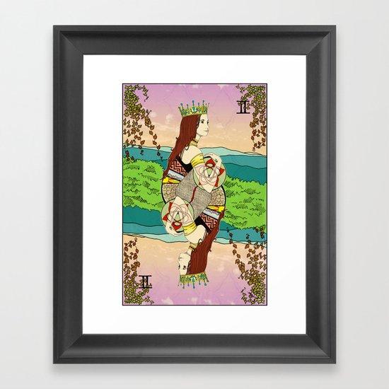 The Queen (Twins) Framed Art Print