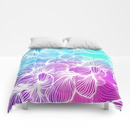 Tropical Cold Front Comforters