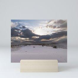White Sands National Monument Mini Art Print