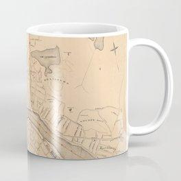 Vintage Map of Haverhill MA (1909) Coffee Mug