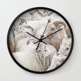 Stick Together Wall Clock