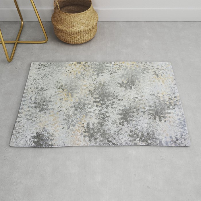 Abstract Gray Rugs