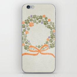 A Merry Clemson Christmas iPhone Skin