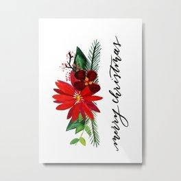 Christmas Card 1 Metal Print