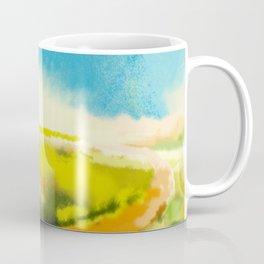Colorful Abstract Landscape Coffee Mug