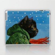 Winter Kitten Laptop & iPad Skin
