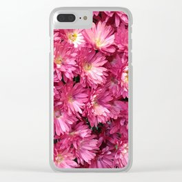 Flower chrysanthemum Clear iPhone Case