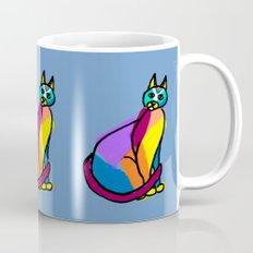 Colorful Cat Hero Mug