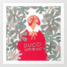 Goo-chi Two Art Print
