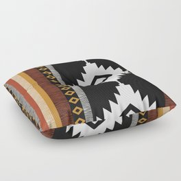 Pueblo in Sienna Floor Pillow