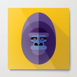 Gorilla gorilla Metal Print