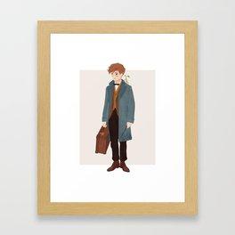 Newt Scamander Framed Art Print
