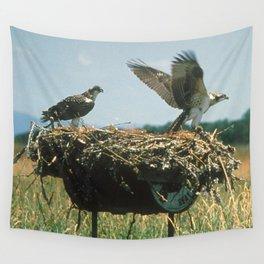 Osprey Nest Wall Tapestry