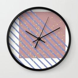 naive texture 4 Wall Clock