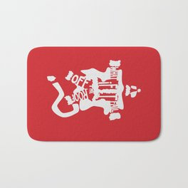What if I Fall off the Roof? -The Santa Clause Bath Mat