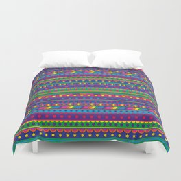 Cosmic Weavings Duvet Cover