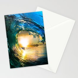 Glowing Wave Stationery Cards