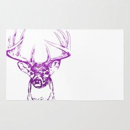 deer. Rug
