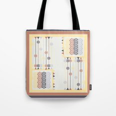 Abstract pillow pattern Tote Bag