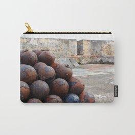 Cannonballs at San Felipe del Morro Carry-All Pouch