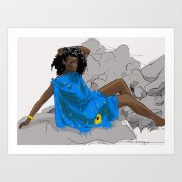 La Isla Bonita Art Print