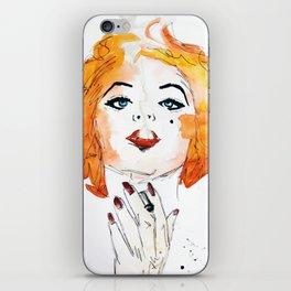 Chloe. iPhone Skin
