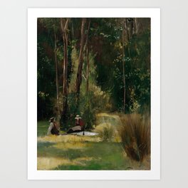 Tom Roberts - A Sunday Afternoon - Australian Oil Painting Art Print