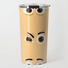 Pack of nice character eyes Travel Mug