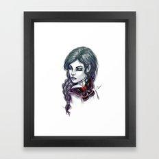Cecropia Framed Art Print