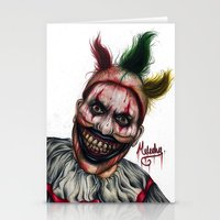 ahs Stationery Cards featuring Twisty-AHS No.2 by MELCHOMM