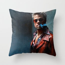 In Tyler Durden We Trust - Fight Throw Pillow