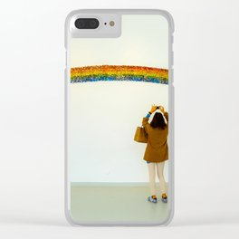 Over The Rainbow Clear iPhone Case