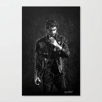 cyrilliart Canvas Prints featuring Wet Zayn by Cyrilliart
